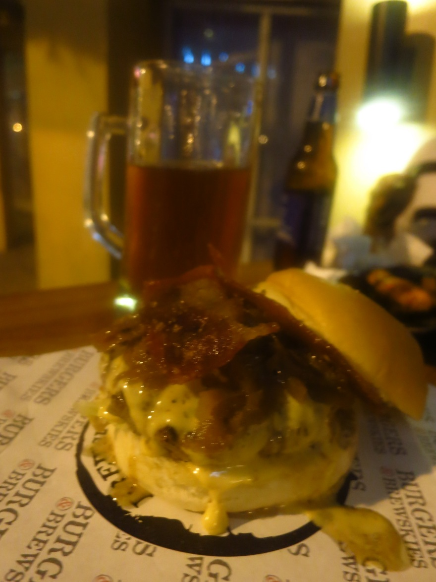 The Kandi Burger and Indio Pale Ale