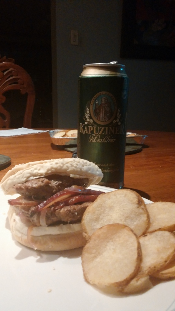 The Beer Burger with the Beer